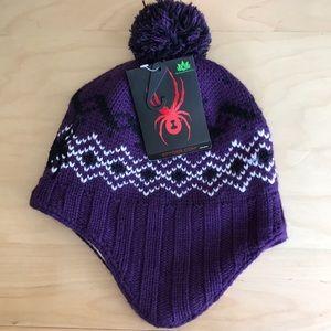NWT Spyder Knit Hat